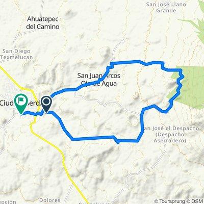 De Unnamed Road, Ciudad Serdán a San Cayetano LB, Ciudad Serdán