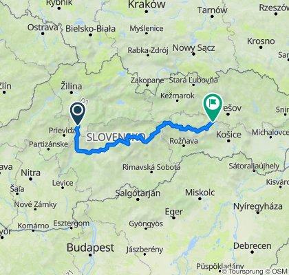 2011 - Přejezd slovenských hor