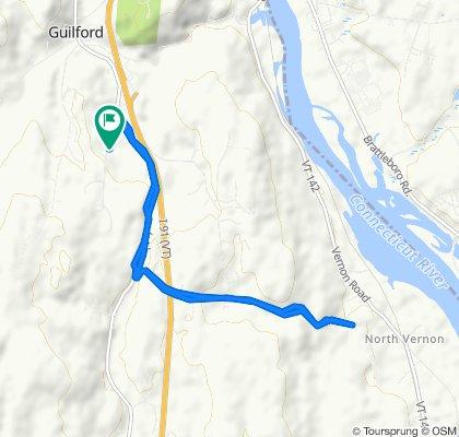 311 Butternut Hill Rd, Guilford to 311 Butternut Hill Rd, Guilford