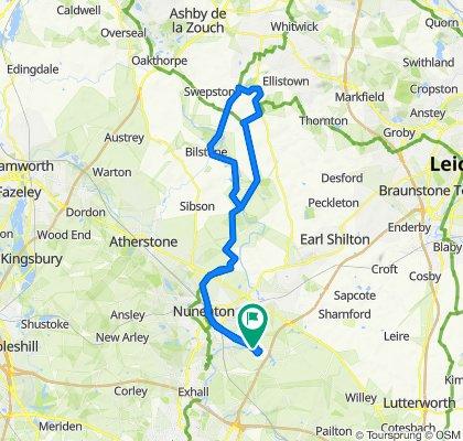 13 William Beesley Crescent, Nuneaton to 7 William Beesley Crescent, Nuneaton