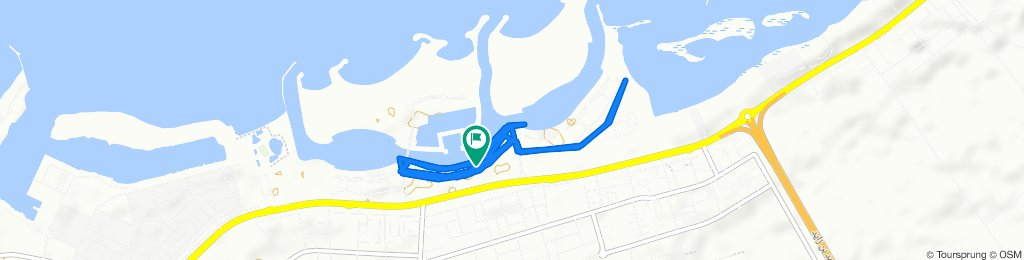 Moderate route in Ras Al Khaimah