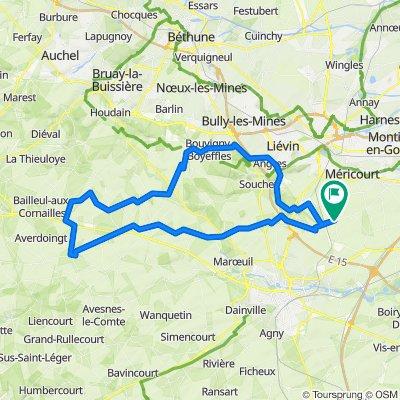 parcours 76 Km