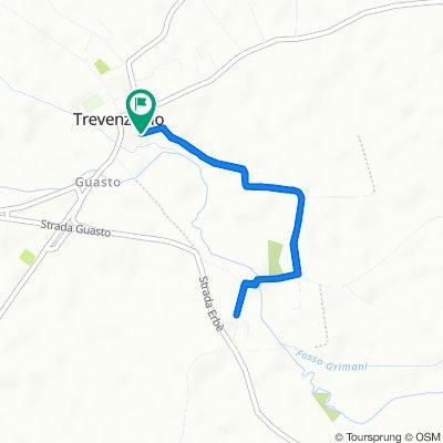 Giro a velocità lenta in Trevenzuolo