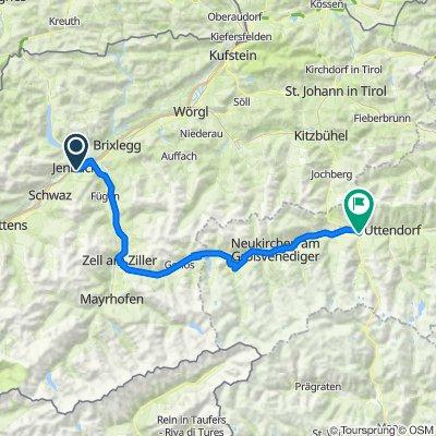 01 Jenbach - Krimml - Mittersill 88km, 1410 HM