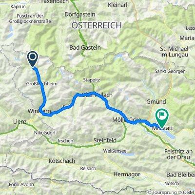 03 Heiligenblut - Millstatt 94km, 660HM