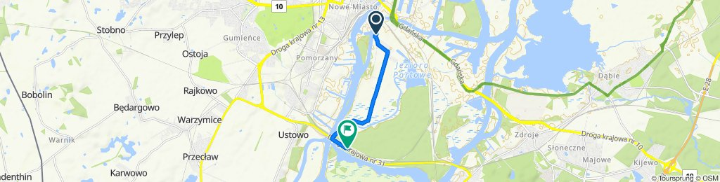 Kanał Parnicki 218, Szczecin do Dziewoklicz nż 12, Szczecin