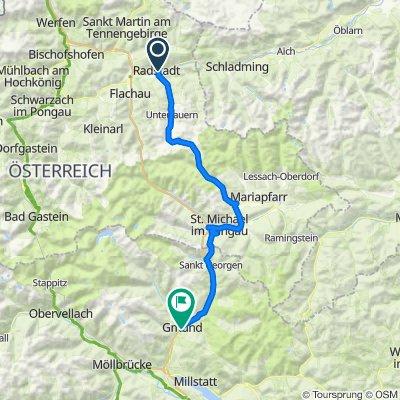 03 Radstadt - Obertauern - Gmünd 82km, 1750HMM