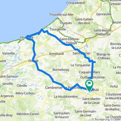 De Route de Falaise 16, Saint-Désir à Route de Falaise 16, Saint-Désir