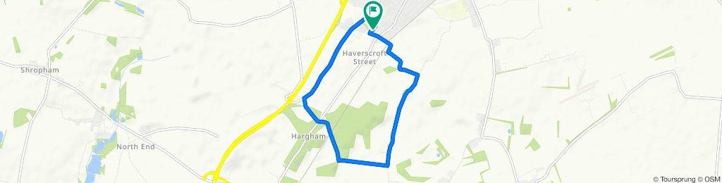 Slow ride in Attleborough