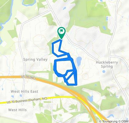 Slow ride in Durham