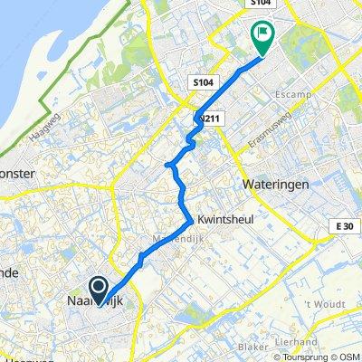 Dijkweg 2, Naaldwijk到Meppelweg 220, Den Haag