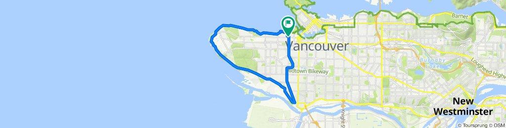 arbutus greenway and ubc ride Vancouver