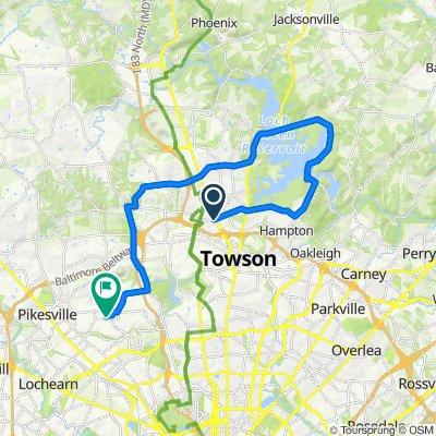 York Road 1414, Lutherville-Timonium to Farringdon Road 2531, Baltimore