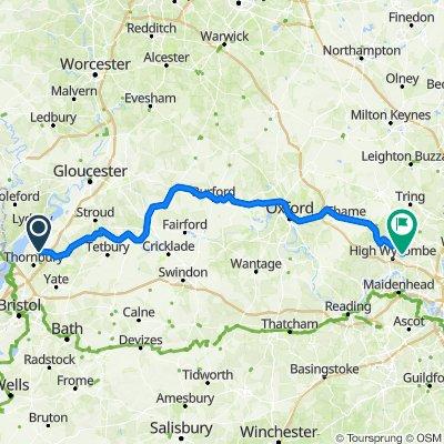 Rockhampton to Penn Cotswolds