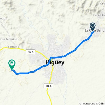 Relaxed route in Salvaleon De Higuey