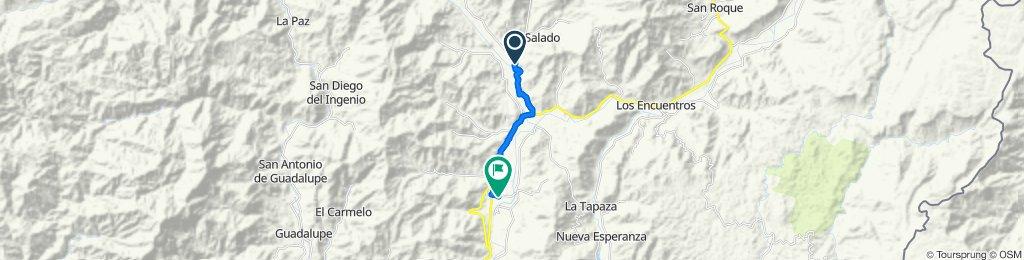 Y de Chicaña - Chicaña, Yantzaza to Laureles, Yantzaza