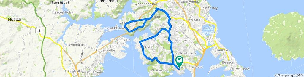 High-speed route in Birkenhead