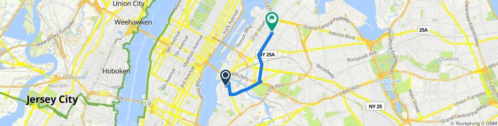 1068 Manhattan Ave, New York to 30-85 32nd St, New York