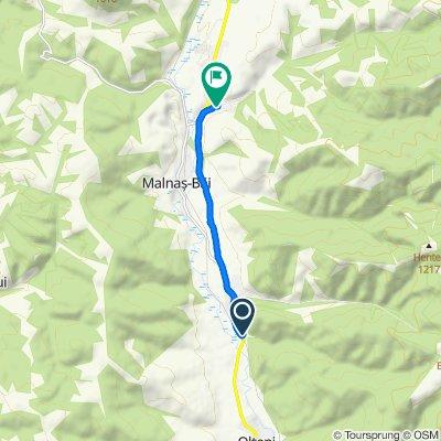 Steady ride in Micfalău