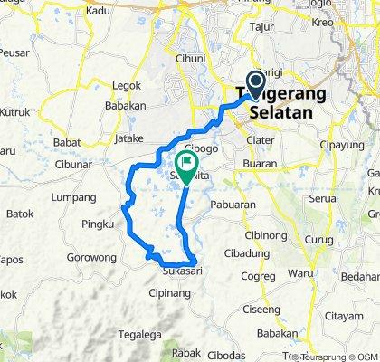 Gravel Route: JPG - Gn Talaga - Cisauk