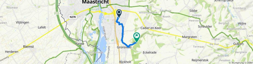 Kruisstraat 27, Maastricht to Dorreweg, Eckelrade