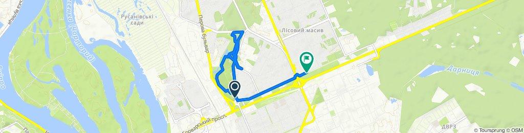 Steady ride in Kyiv