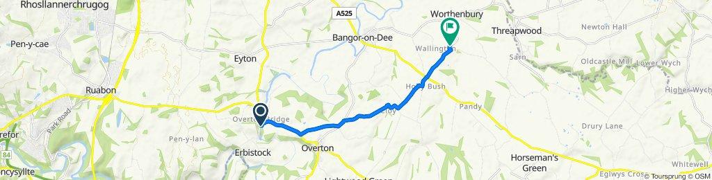 A528, Wrexham to Rookery Lane, Wrexham