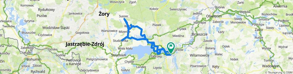 Grabowicka 23F, Czechowice-Dziedzice do Grabowicka 23F, Czechowice-Dziedzice
