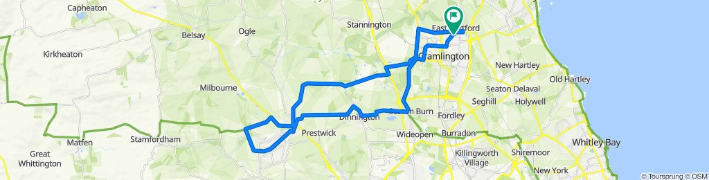 2 Kelsey Way, Cramlington to 7 Kelsey Way, Cramlington
