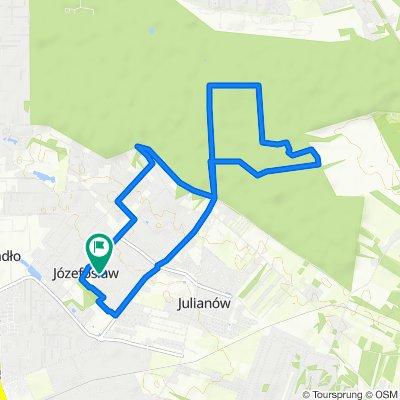 Spokojna trasa do Józefosław