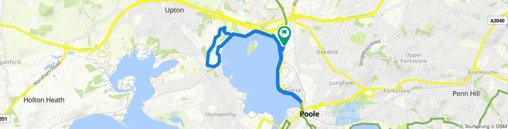 Powolna trasa w Poole