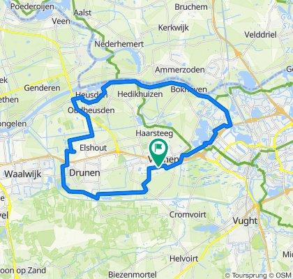 Guido Gezellestraat 17, Vlijmen naar Beneluxlaan 39, Vlijmen