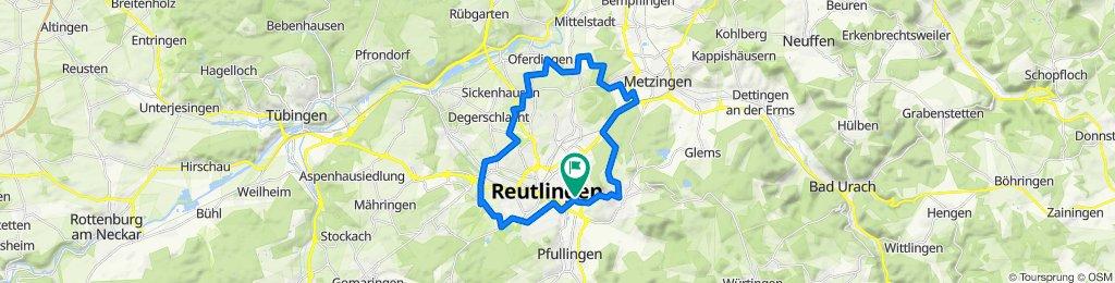 rund um Reutlingen