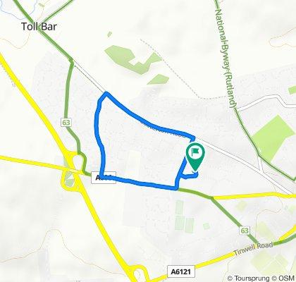 5 Argyll Way, Stamford to 5 Argyll Way, Stamford