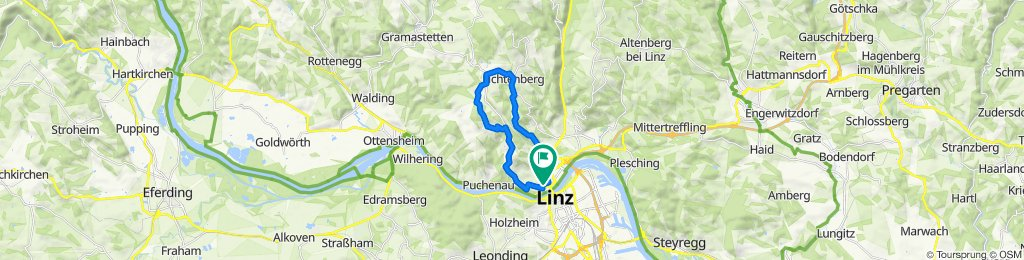 Urfahr-Bachlberg-Lichtenberg-Pöstlingberg-Urfahr