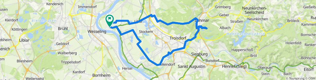 Lülsdorf zum Haus Waldeck in Lohmar