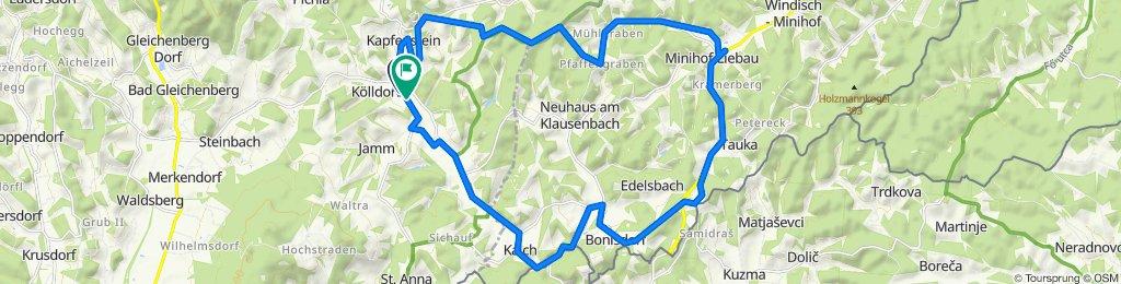 Einfache Fahrt in Kapfenstein
