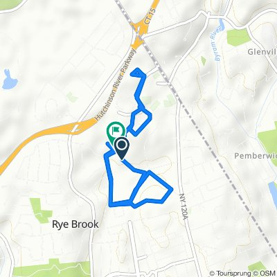 Relaxed route in Rye Brook