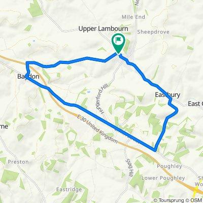 Baydon Eastbury Loop