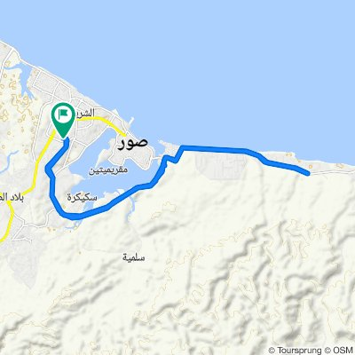 Moderate route in Sur