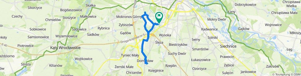 Spokojna trasa w Wrocław
