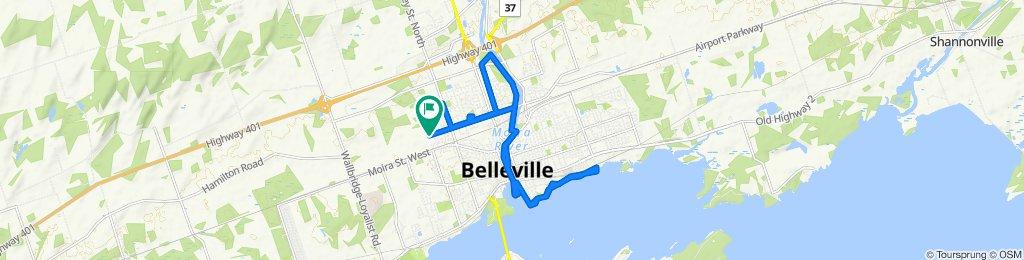 286 College St W, Belleville to 286 College St W, Belleville