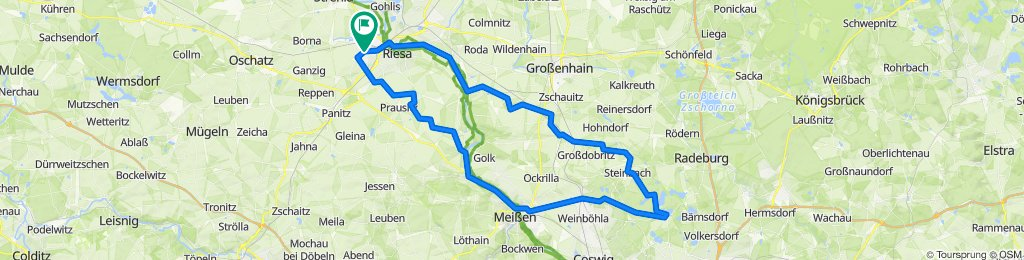 Riesa - Moritzburg