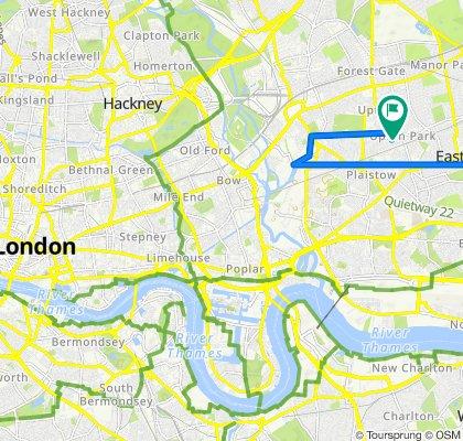 Easy ride in London