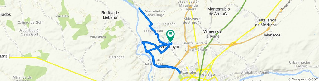 Paseo lento en Villamayor