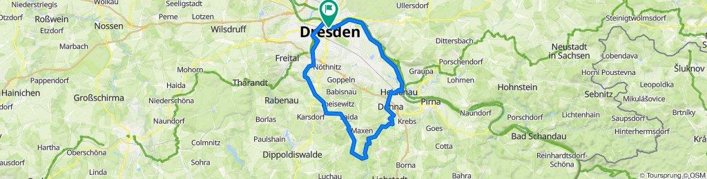ähnlich SZ-Fahrradfest – 64 km