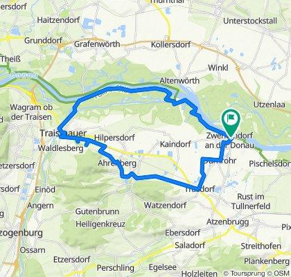 Trasdorf-Sitzenberg-Traismauer-Donau-Zwentendorf