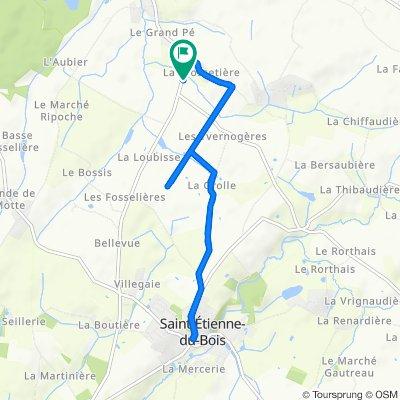 De La Noue 4, Saint-Étienne-du-Bois à La Noue 4, Saint-Étienne-du-Bois
