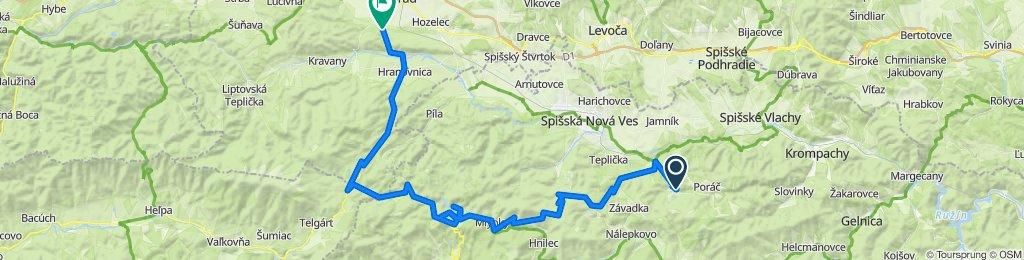 Ry,Markuš.dolina,Hnilčik,Dedinky,Stratena,Vernar,Poprad