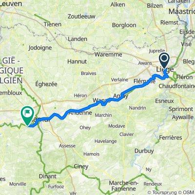 TW-Etape 1 Liege - Namur